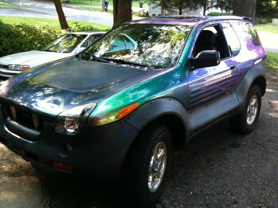 I have a '99 VehiCross that I think I need to finally sell.  It has been painted with chameleon paint (for those who don't know, it changes color).  It also has a sunroof.  94,000 miles and taken very good care (my father was a mechanic).  $8,000.  It is in Toronto, Canada, so you would have to pay to get it transported.